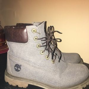 Woman's size 8 Timberland Boots